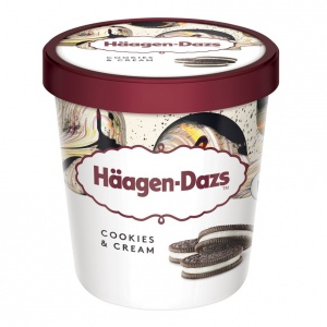 Häagen-Dazs Cookies and Cream 500ml