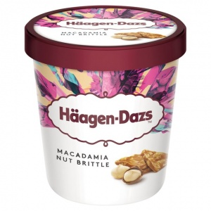 Häagen-Dazs Macadamia Nut Brittle 500ml